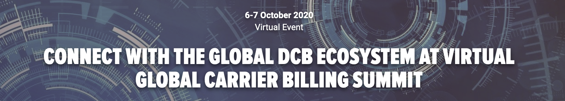 Global Carrier Billing Virtual Event
